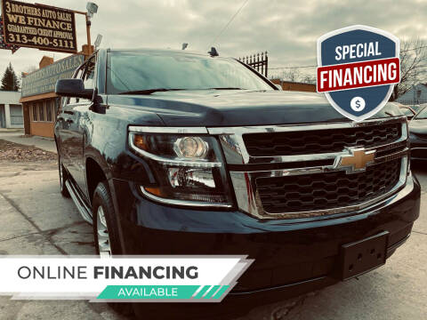 2019 Chevrolet Suburban for sale at 3 Brothers Auto Sales Inc in Detroit MI