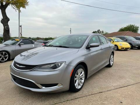 2015 Chrysler 200 for sale at CityWide Motors in Garland TX