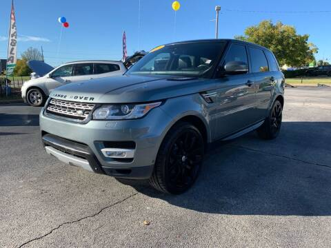 2014 Land Rover Range Rover Sport for sale at Bagwell Motors in Lowell AR