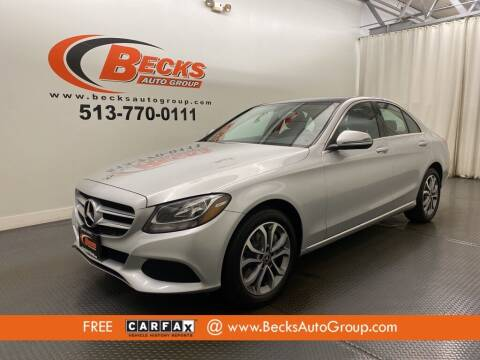 2018 Mercedes-Benz C-Class for sale at Becks Auto Group in Mason OH
