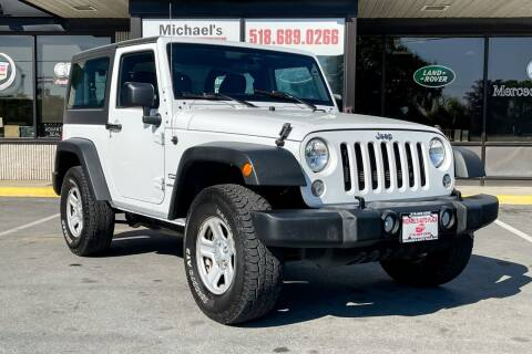 2017 Jeep Wrangler for sale at Michaels Auto Plaza in East Greenbush NY
