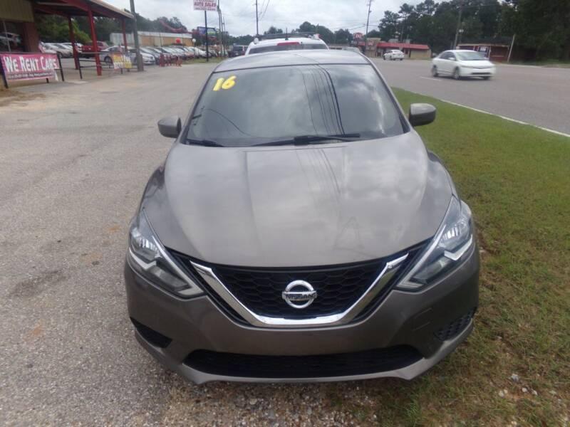 2016 Nissan Sentra for sale at Alabama Auto Sales in Semmes AL