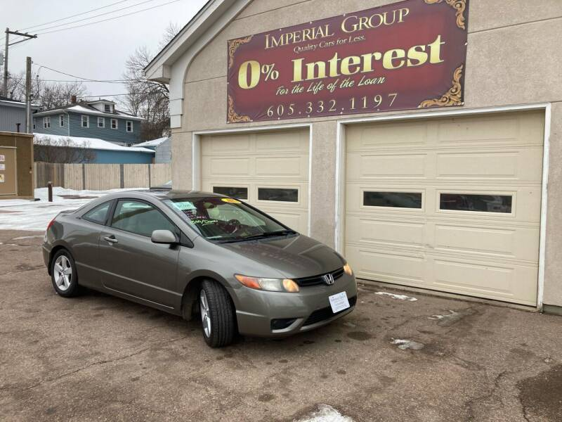 2006 Honda Civic for sale at Imperial Group in Sioux Falls SD