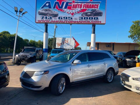 2015 Lincoln MKT for sale at ANF AUTO FINANCE in Houston TX