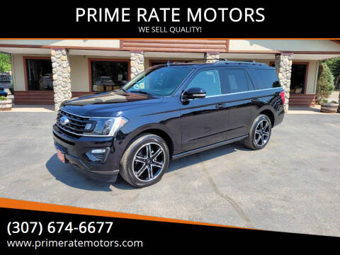 2019 Ford Expedition for sale at PRIME RATE MOTORS in Sheridan WY