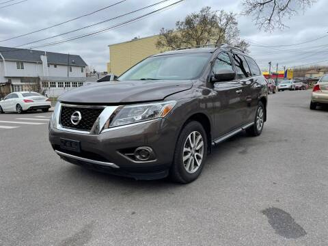 2015 Nissan Pathfinder for sale at Kapos Auto, Inc. in Ridgewood, Queens NY