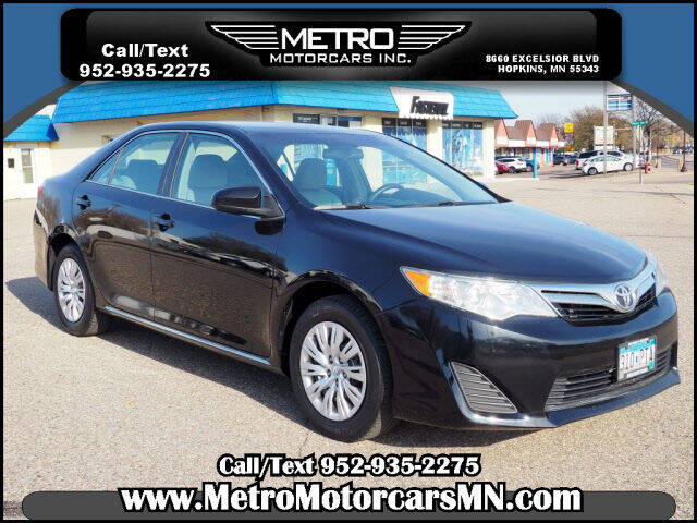 2014 Toyota Camry for sale at Metro Motorcars Inc in Hopkins MN