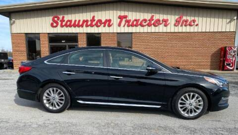 2015 Hyundai Sonata for sale at STAUNTON TRACTOR INC in Staunton VA