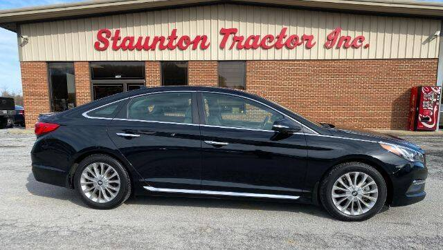 2015 Hyundai Sonata for sale at STAUNTON TRACTOR INC in Staunton VA
