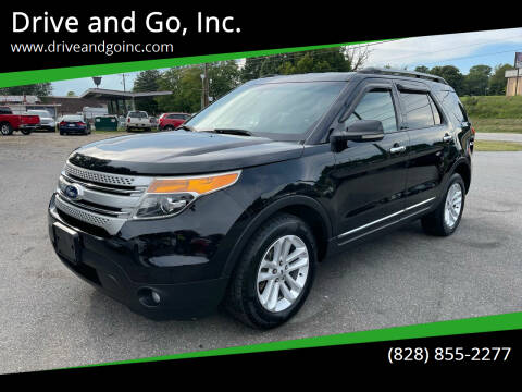 2012 Ford Explorer for sale at Drive and Go, Inc. in Hickory NC