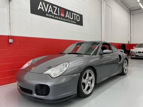 2001 Porsche 911 for sale at AVAZI AUTO GROUP LLC in Gaithersburg MD