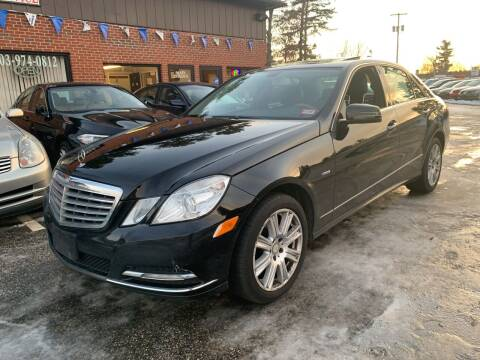 2012 Mercedes-Benz E-Class for sale at Official Auto Sales in Plaistow NH