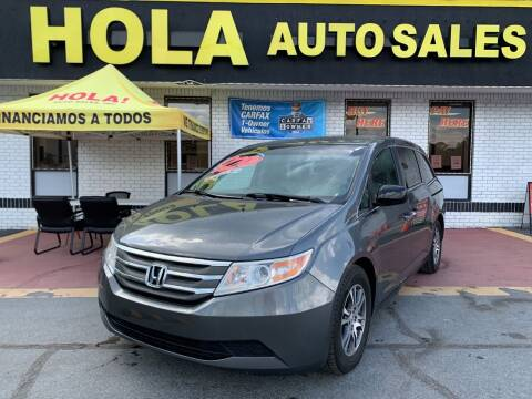 2012 Honda Odyssey for sale at HOLA AUTO SALES CHAMBLEE- BUY HERE PAY HERE - in Atlanta GA