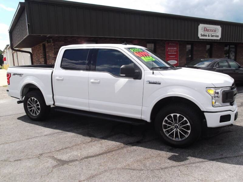 2020 Ford F-150 for sale at Dietsch Sales & Svc Inc in Edgerton OH