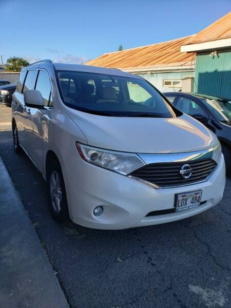 2012 Nissan Quest for sale at Ohana Auto Sales in Wailuku HI