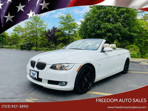 2008 BMW 3 Series for sale at Freedom Auto Sales in Chantilly VA