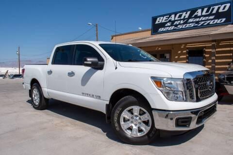2018 Nissan Titan for sale at Beach Auto and RV Sales in Lake Havasu City AZ
