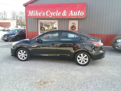 2010 Mazda MAZDA3 for sale at MIKE'S CYCLE & AUTO - Mikes Cycle and Auto (Liberty) in Liberty IN