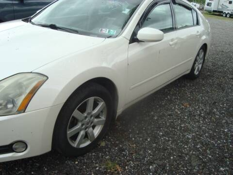 2006 Nissan Maxima for sale at Branch Avenue Auto Auction in Clinton MD