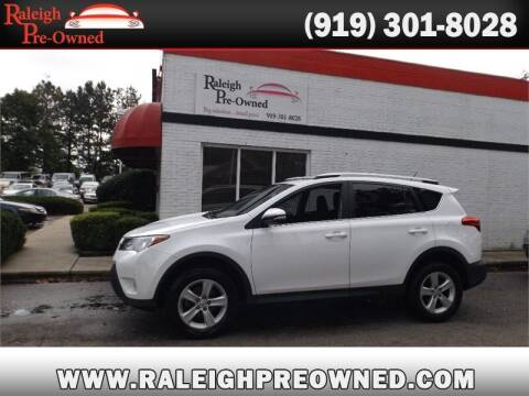2013 Toyota RAV4 for sale at Raleigh Pre-Owned in Raleigh NC