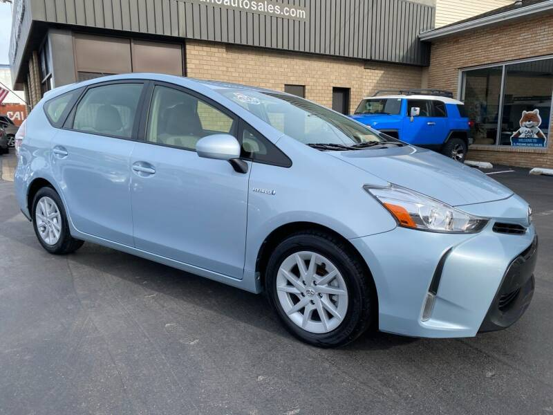 2016 Toyota Prius v for sale at C Pizzano Auto Sales in Wyoming PA