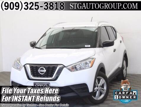 2018 Nissan Kicks for sale at STG Auto Group in Montclair CA