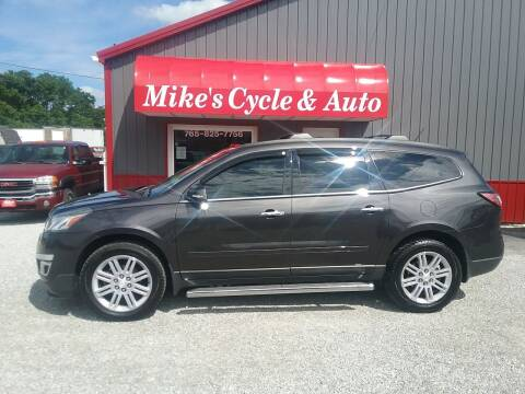 2014 Chevrolet Traverse for sale at MIKE'S CYCLE & AUTO in Connersville IN