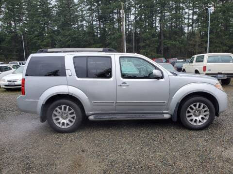 2011 Nissan Pathfinder for sale at WILSON MOTORS in Spanaway WA