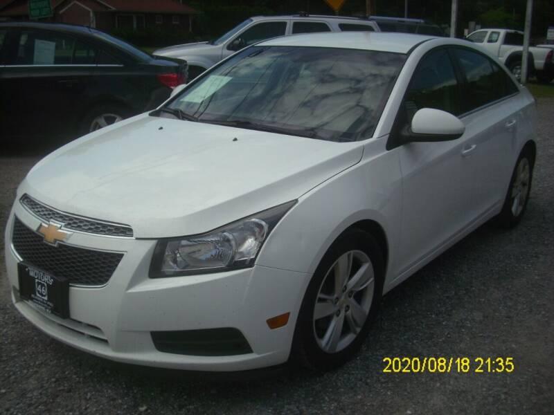 2014 Chevrolet Cruze for sale at Motors 46 in Belvidere NJ