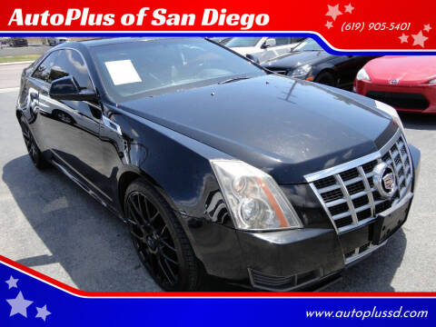 2012 Cadillac CTS for sale at AutoPlus of San Diego in Spring Valley CA