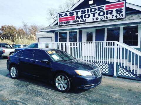 2012 Chrysler 200 for sale at EASTSIDE MOTORS in Tulsa OK