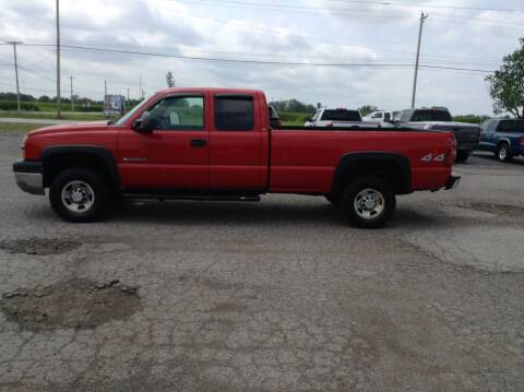 2003 Chevrolet Silverado 2500HD for sale at Kevin's Motor Sales in Montpelier OH