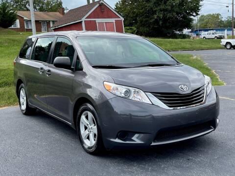 2012 Toyota Sienna for sale at ANZ AUTO CONCEPTS LLC in Fredericksburg VA