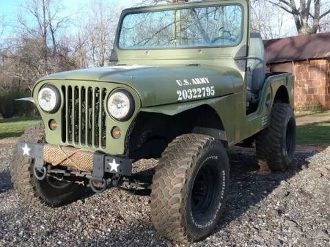 1960 Willys Jeep for sale at Classic Car Deals in Cadillac MI