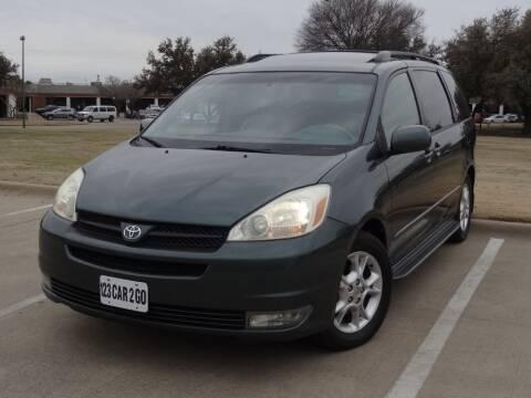 2004 Toyota Sienna for sale at 123 Car 2 Go LLC in Dallas TX