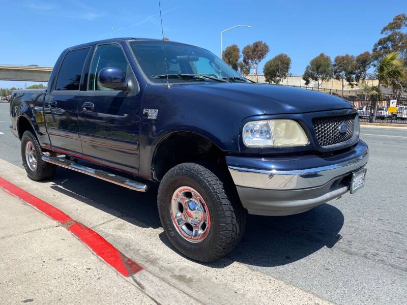 2003 Ford F-150 for sale at Beyer Enterprise in San Ysidro CA