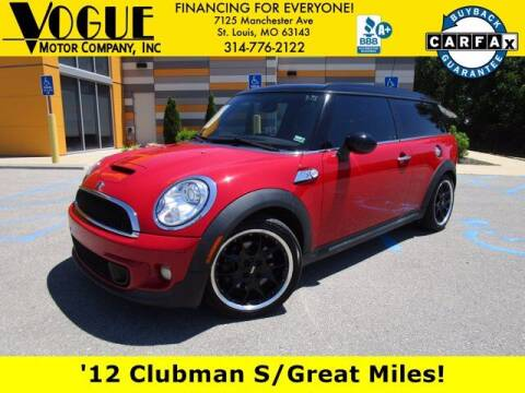 2012 MINI Cooper Clubman for sale at Vogue Motor Company Inc in Saint Louis MO