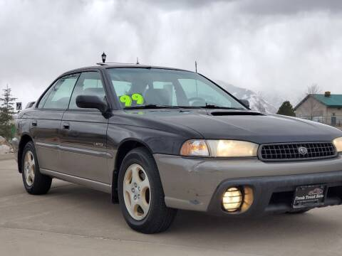1999 Subaru Legacy for sale at FRESH TREAD AUTO LLC in Springville UT