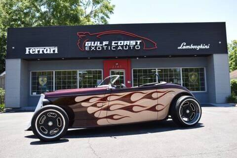 1933 Ford Roadster for sale at Gulf Coast Exotic Auto in Biloxi MS