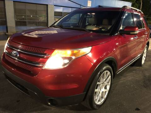 2013 Ford Explorer for sale at Capital Motors in Raleigh NC