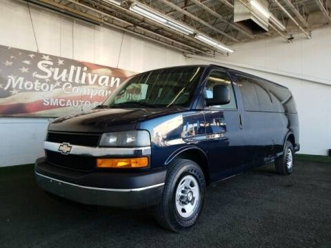 2014 Chevrolet Express Passenger for sale at SULLIVAN MOTOR COMPANY INC. in Mesa AZ