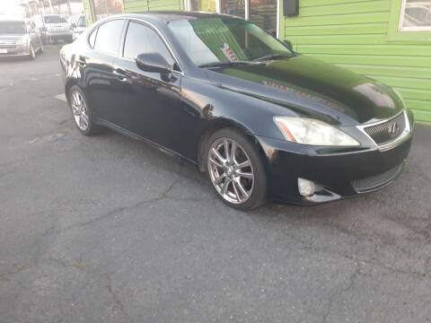 2007 Lexus IS 250 for sale at Amazing Choice Autos in Sacramento CA