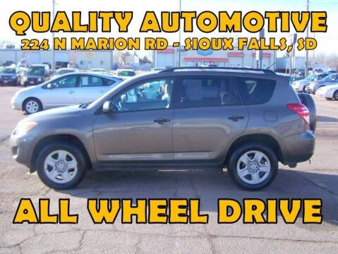 2011 Toyota RAV4 for sale at Quality Automotive in Sioux Falls SD