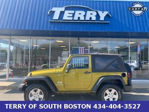 2008 Jeep Wrangler for sale at Terry of South Boston in South Boston VA