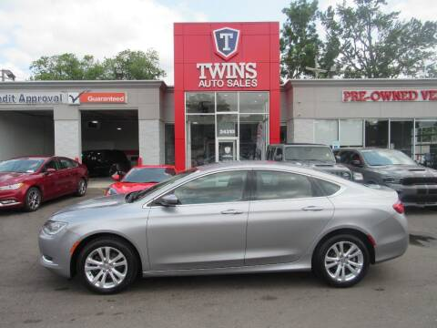 2015 Chrysler 200 for sale at Twins Auto Sales Inc in Detroit MI