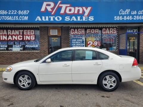 2008 Chevrolet Impala for sale at R Tony Auto Sales in Clinton Township MI