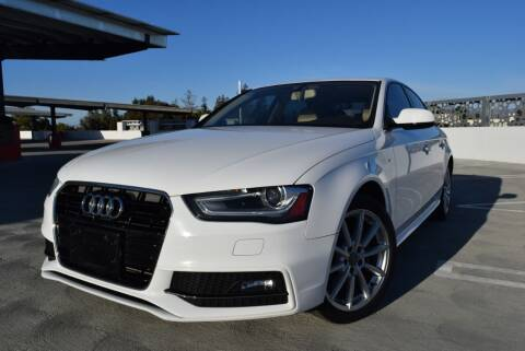 2014 Audi A4 for sale at Dino Motors in San Jose CA