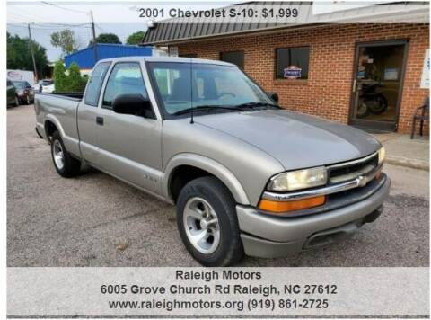 2001 Chevrolet S-10 for sale at Raleigh Motors in Raleigh NC