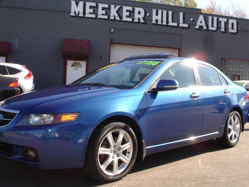 2005 Acura TSX for sale at Meeker Hill Auto Sales in Germantown WI