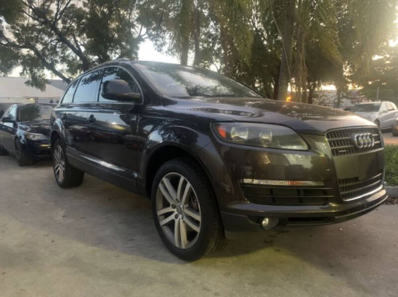 2009 Audi Q7 for sale at Boss Automotive in Hollywood FL